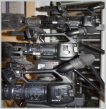 Our Sony EX1 Cameras
