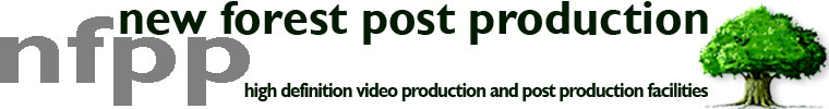 high definition video production and post production facilities banner